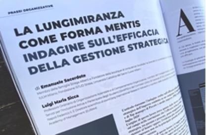 lungimiranza forma mentis efficacia gestione strategica
